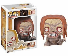 Funko Pop TV Vinyl 16 The Walking Dead Bicycle Girl Figure