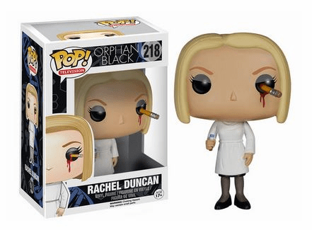 Funko Pop TV Vinyl 218 Orphan Black Rachel Duncan Figure