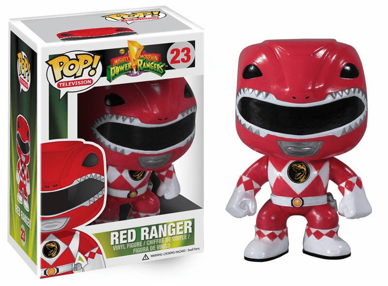 Funko Pop TV Vinyl 23 Mighty Morphin Power Rangers Red Ranger Figure