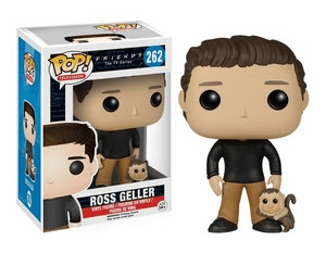 Funko Pop TV Vinyl 262 Friends Ross Geller Figure