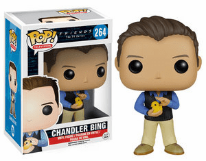 Funko Pop TV Vinyl 264 Friends Chandler Bing Figure