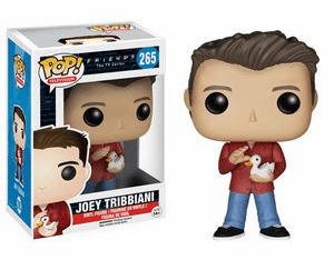 Funko Pop TV Vinyl 265 Friends Joey Tribbiani Figure