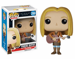 Funko Pop TV Vinyl 266 Friends Phoebe Buffay Figure