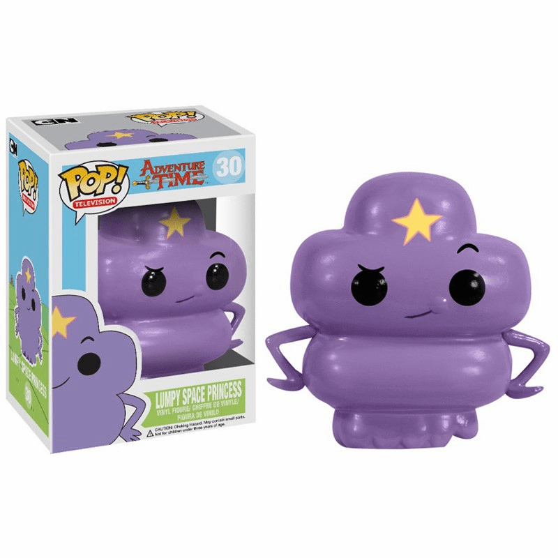 Funko Pop TV Vinyl 30 Adventure Time Lumpy Space Princess Figure