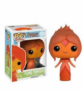 Funko Pop TV Vinyl 302 Adventure Time Flame Princess Figure