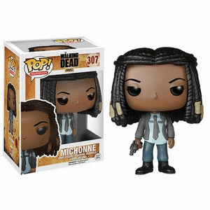Funko Pop TV Vinyl 307 The Walking Dead Michonne in Constable Uniform