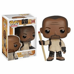 Funko Pop TV Vinyl 308 The Walking Dead Morgan Figure