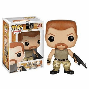 Funko Pop TV Vinyl 309 The Walking Dead Abraham Figure