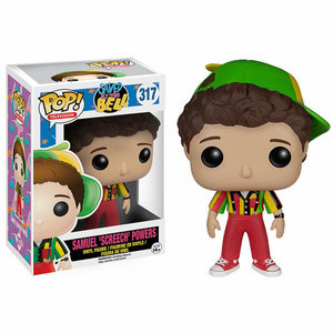 Funko Pop TV Vinyl 317 Saved by the Bell Samuel Screech Powers Figure
