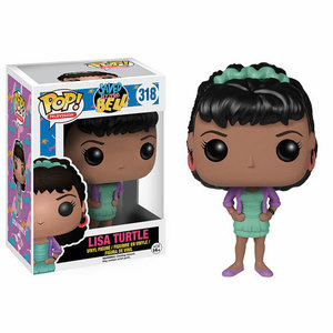 Funko Pop TV Vinyl 318 Saved by the Bell Lisa Turtle Figure