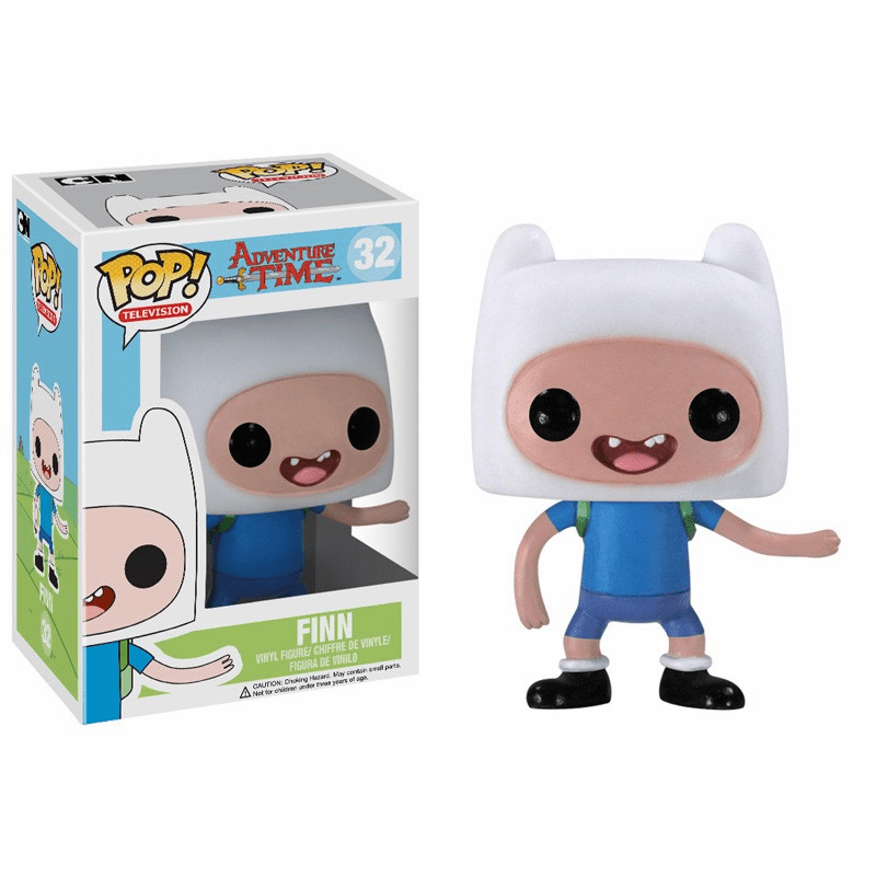 Funko Pop TV Vinyl 32 Adventure Time Finn Figure