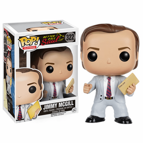 Funko Pop TV Vinyl 322 Better Call Saul Jimmy McGill Figure