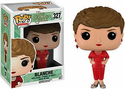 Funko Pop TV Vinyl 327 The Golden Girls Blanche Figure