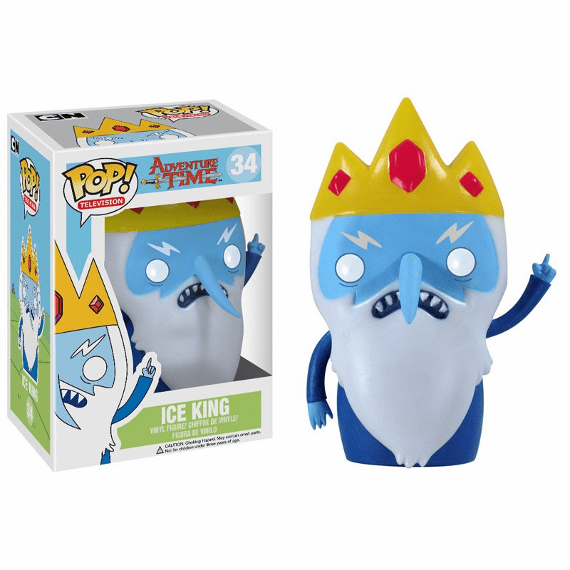 Funko Pop TV Vinyl 34 Adventure Time Ice King Figure