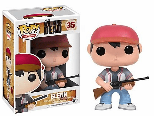 Funko Pop TV Vinyl 35 The Walking Dead Glenn Figure