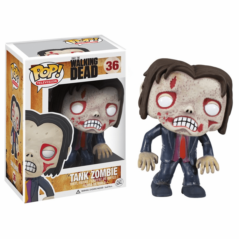 Funko Pop TV Vinyl 36 The Walking Dead Tank Zombie Figure