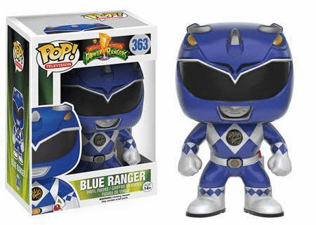 Funko Pop TV Vinyl 363 Mighty Morphin Power Rangers Blue Ranger Figure