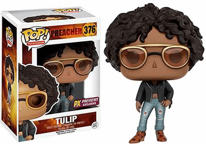 Funko Pop TV Vinyl 376 Preacher Tulip Figure