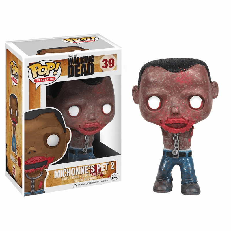 Funko Pop TV Vinyl 39 The Walking Dead Michonne's Pet 2 Figure