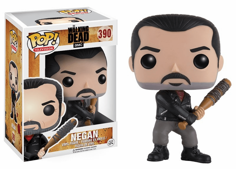Funko Pop TV Vinyl 390 The Walking Dead Negan Figure