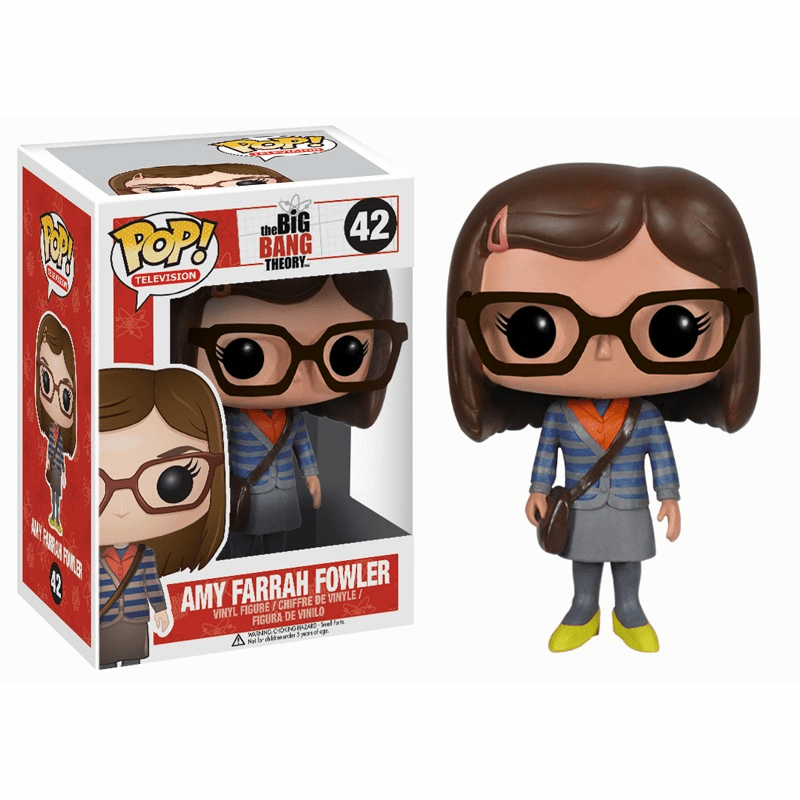Funko Pop TV Vinyl 42 The Big Bang Theory Amy Farrah Fowler Figure