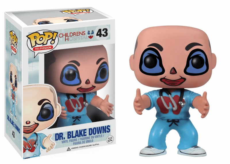 Funko Pop TV Vinyl 43 Childrens Hospital Dr. Blake Downs Figure