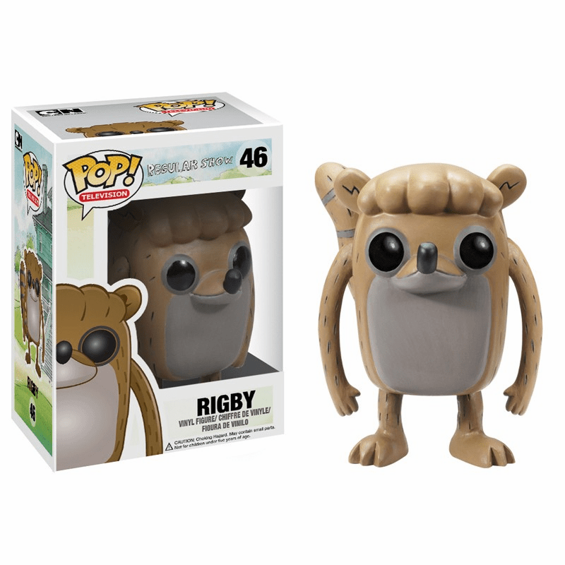 Funko Pop TV Vinyl 46 Regular Show Rigby Figure