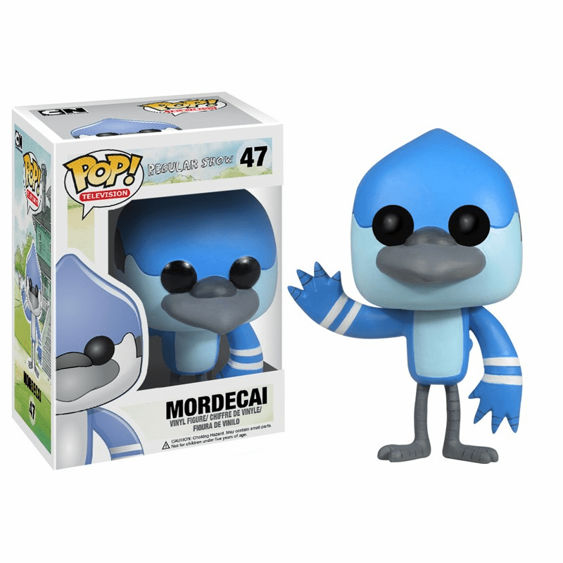 Funko Pop TV Vinyl 47 Regular Show Mordecai Figure