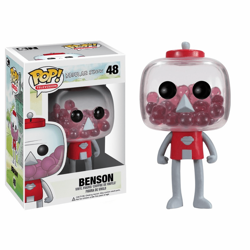 Funko Pop TV Vinyl 48 Regular Show Benson Figure