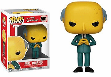 Funko Pop TV Vinyl 501 The Simpsons Mr. Burns Figure