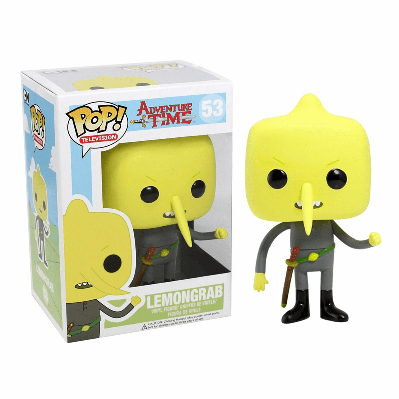Funko Pop TV Vinyl 53 Adventure Time Lemongrab Figure