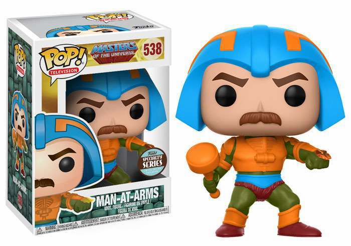 Funko Pop TV Vinyl 538 Masters of the Universe Man-At-Arms Figure
