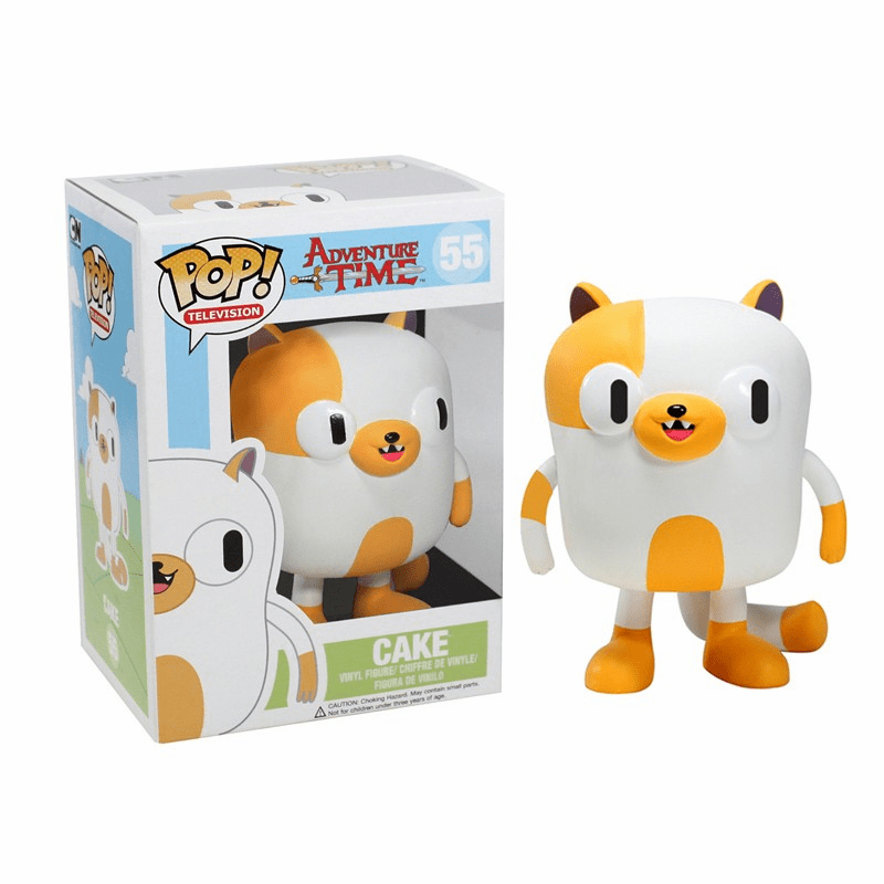 Funko Pop TV Vinyl 55 Adventure Time Cake Figure