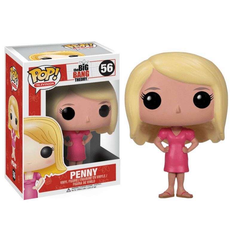 Funko Pop TV Vinyl 56 The Big Bang Theory Penny Figure