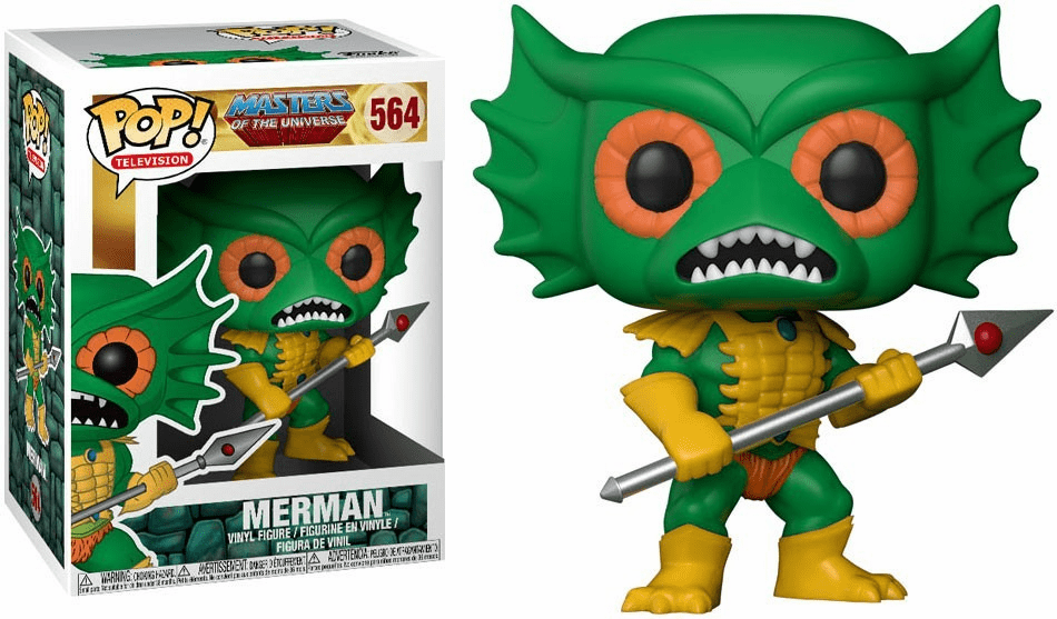 Funko Pop TV Vinyl 564 Masters of the Universe Merman Figure