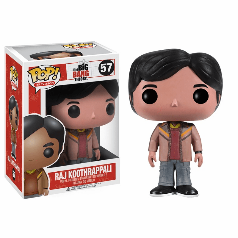 Funko Pop TV Vinyl 57 The Big Bang Theory Raj Koothrappali Figure