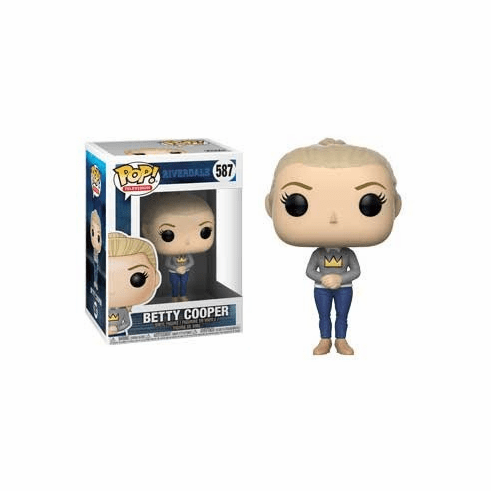 Funko Pop TV Vinyl 587 Riverdale Betty Cooper Figure