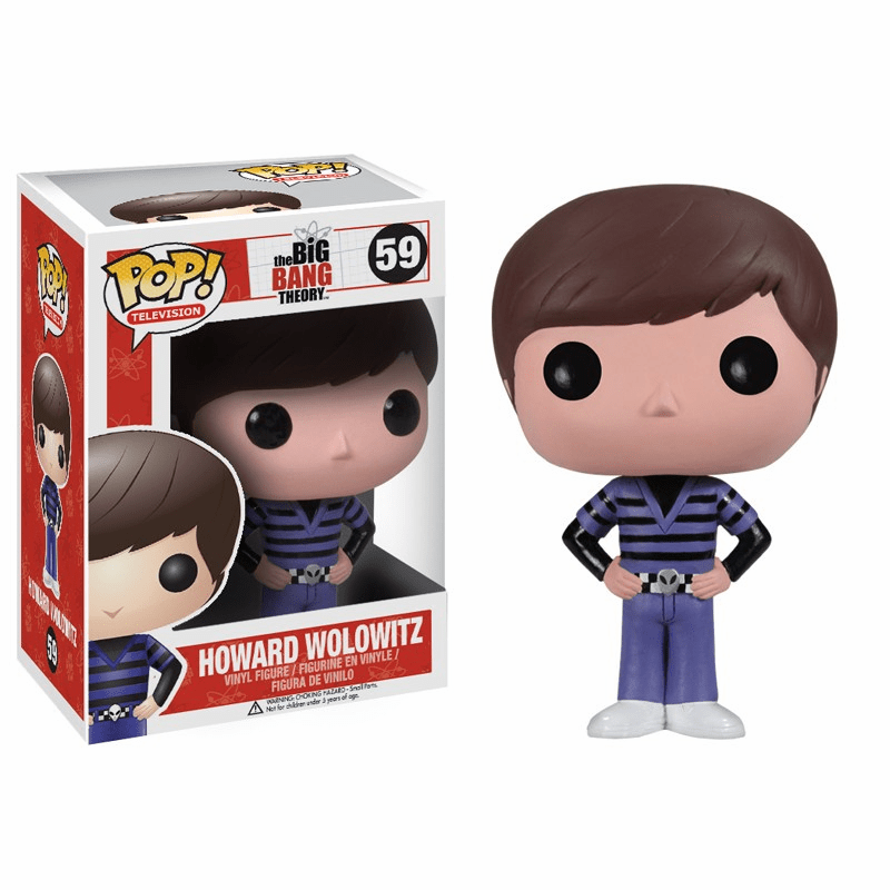 Funko Pop TV Vinyl 59 The Big Bang Theory Howard Wolowitz Figure