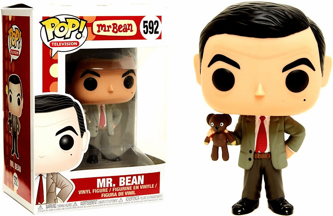 Funko Pop TV Vinyl 592 Mr. Bean Figure