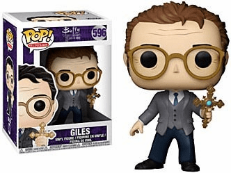 Funko Pop TV Vinyl 596 Buffy the Vampire Slayer Giles Figure