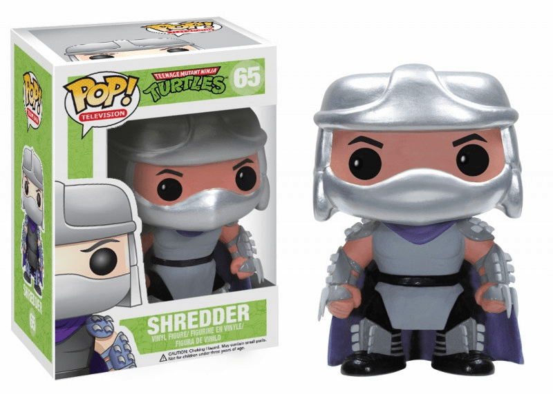 Funko Pop TV Vinyl 65 Teenage Mutant Ninja Turtles Shredder Figure