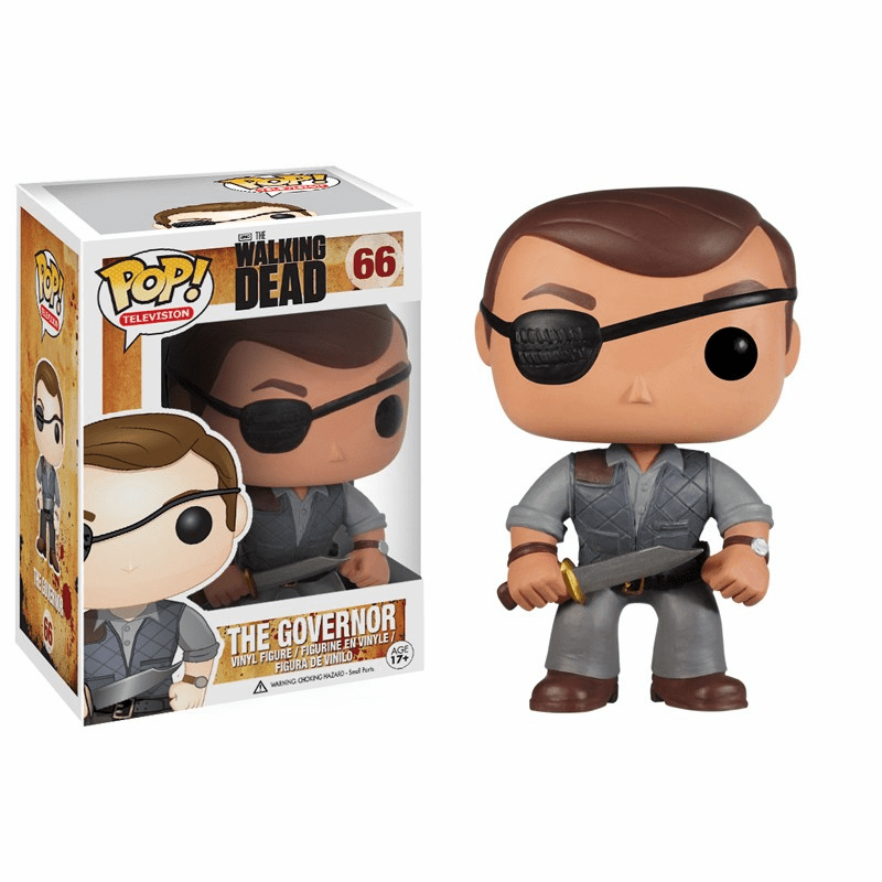 Funko Pop TV Vinyl 66 The Walking Dead The Governor Figure