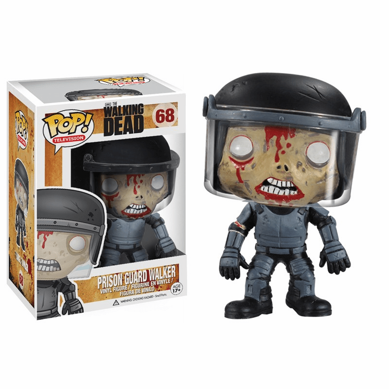 Funko Pop TV Vinyl 68 The Walking Dead Prison Guard Walker Figure
