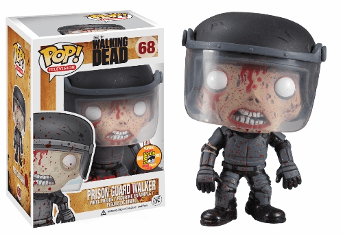 Funko Pop TV Vinyl 68 Walking Dead Prison Guard Walker Variant Figure