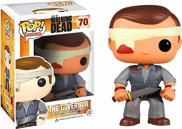 Funko Pop TV Vinyl 70 The Walking Dead The Governor Bloody Variant Figure