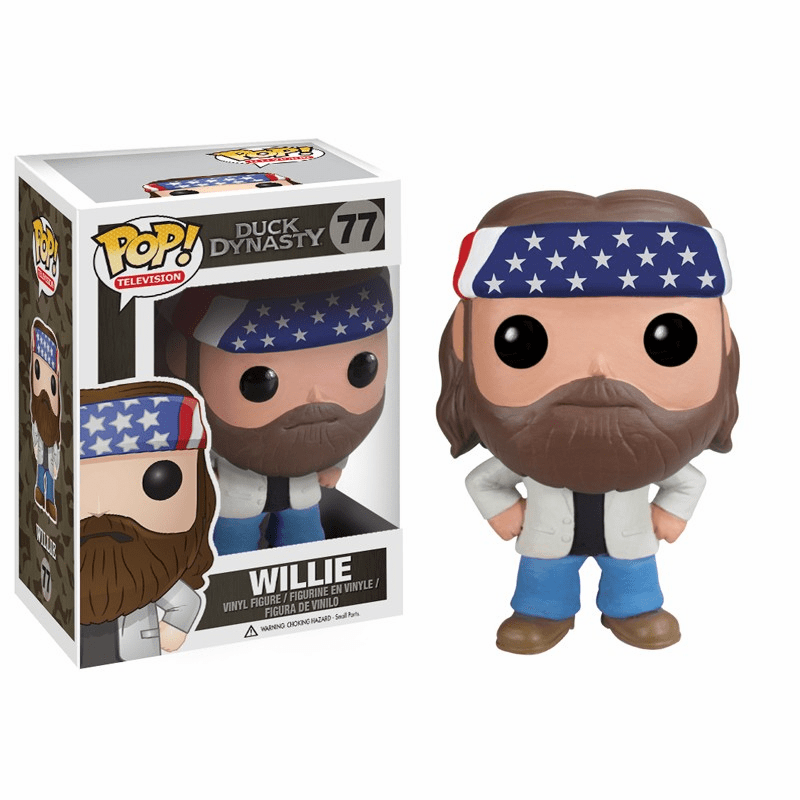 Funko Pop TV Vinyl 77 Duck Dynasty Willie Figure