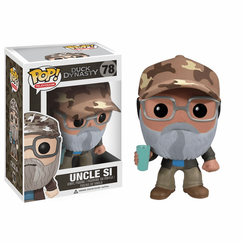 Funko Pop TV Vinyl 78 Duck Dynasty Uncle Si Figure