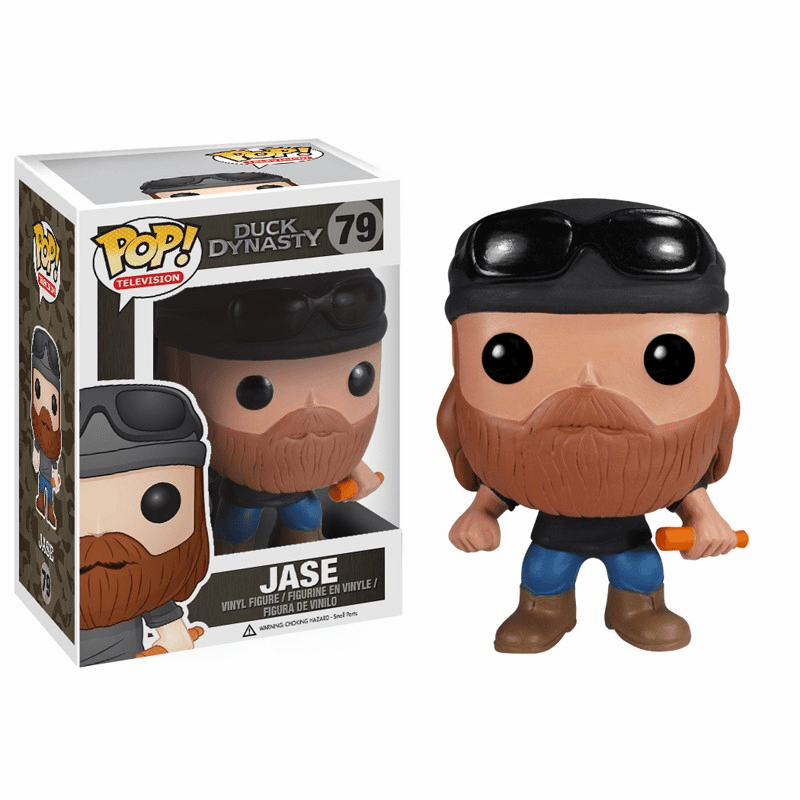 Funko Pop TV Vinyl 79 Duck Dynasty Jase Figure
