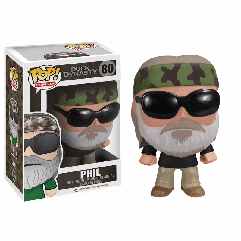 Funko Pop TV Vinyl 80 Duck Dynasty Phil Figure