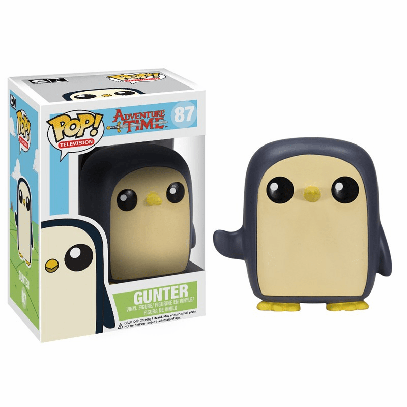 Funko Pop TV Vinyl 87 Adventure Time Gunter Figure